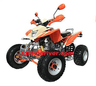 Quad BASHAN BS250S-11 Orange - Ecru